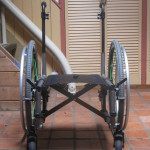 TiLite 2GX Frame with wheels front