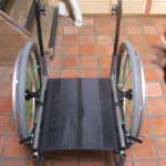 TiLite 2GX Frame with wheels top