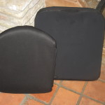TiLite 2GX Options Back rest and cusion front-1